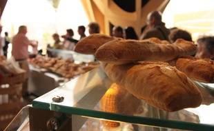 Il est désormais possible de se faire livrer du pain frais au réveil à Lyon, à partir de 2 euros. Illustration.