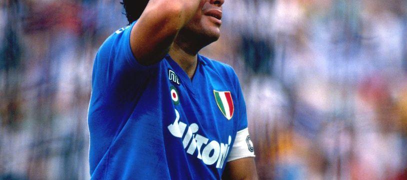 Avec Naples, Diego Maradona a connu beaucoup de hauts et quelques bas. Comme un soir d'automne 1986 à Toulouse. Illustration.