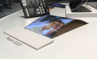 Au CES 2014, LG avait présenté ses écrans souples pour smartphones.