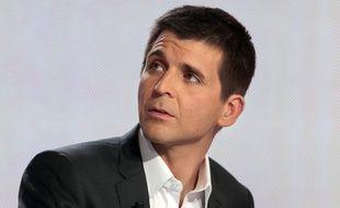 Le journaliste Thomas Sotto en 2013.