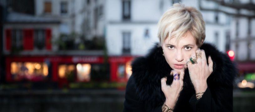 Asia Argento le 13 janvier 2020 à Paris. (Photo JOEL SAGET / AFP)
