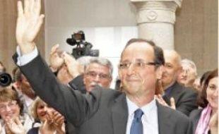 François Hollande, hier, à Tulle.