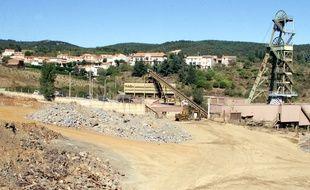 La mine d'or de Salsigne, fermée en 2004 et soupçonnée d'être à l'origine d'une pollution à l'arsenic dans la vallée de l'Orbiel