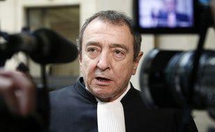 Patrick Maisonneuve, l'avocat de la société de communication de Bygmalion, le 18 février2014.