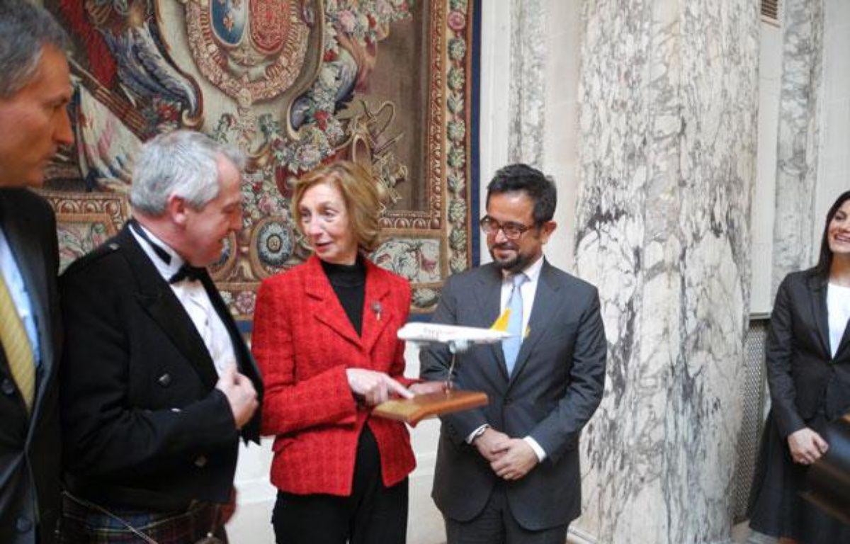 Nicole Bricq, ministre du Commerce extérieur en visite en Turqui – C. BOFF/20 Minutes