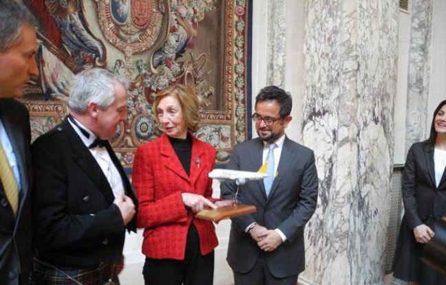Nicole Bricq, ministre du Commerce extérieur en visite en Turqui