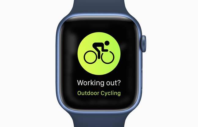 Apple Watch Series 7 usprawnia śledzenie aktywności rowerowej.