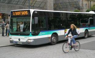 Les dégradations sur le bus s'élèvent à près de 800 euros.