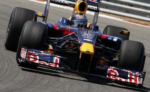 Le pilote allemand de l'écurie Red Bull, Sebastian Vettel, lors des essais du Grand Prix de Turquie le 6 juin 2009