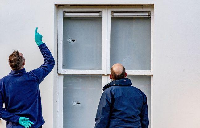 648x415 des policiers enquetent apres des tirs sur l ambassade d arabie saoudite a la haye aux pays bas le