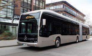 Les bus électriques eCitaro de la marque Mercedes arriveront sur le réseau Star entre 2022 et 2025.