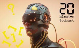 Illustration d'un cyborg, d'un humain machine