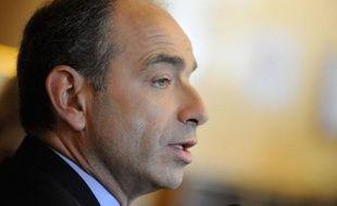 Jean-FrançoisCopé, lors d'une conférence de presse à l'Assemblée nationale, le 24 octobre 2012.