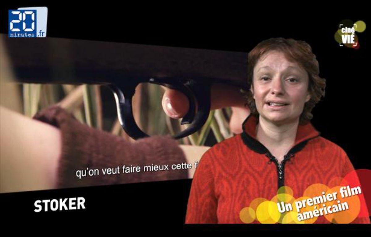Caroline Vié, critique ciné de 20 Minutes, décrypte «Stoker» – JD-TL / 20 Minutes