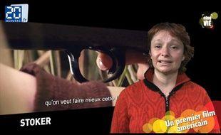 Caroline Vié, critique ciné de 20 Minutes, décrypte «Stoker»