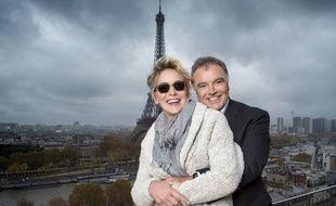 Sharon Stone et Alain Afflelou.