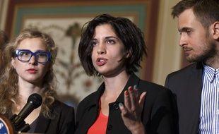 Maria Alyokhina, membre des Pussy Riot, en 2014 (illustration)
