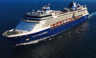 Le Celebrity Millennium, un bateau de croisière de Royal Caribbean.