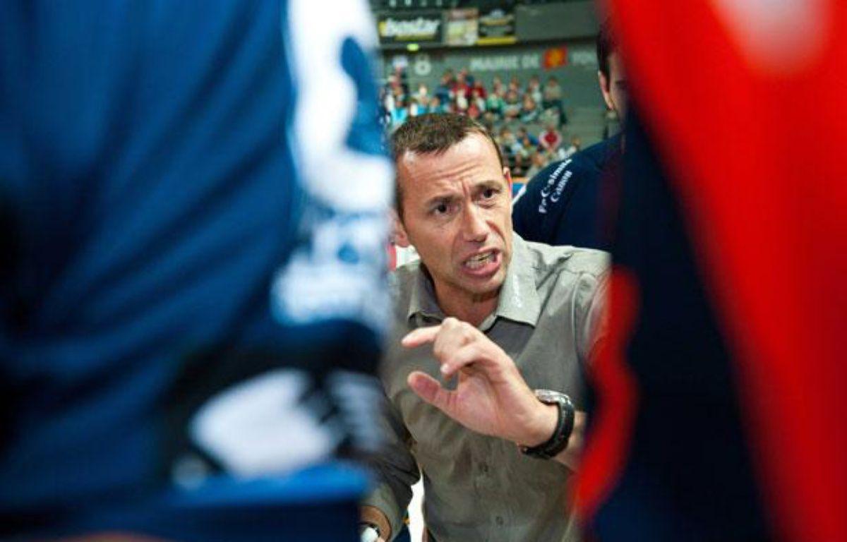 Patrice Canayer, le coach montpelliérain lors du match Toulouse-Montpellier, le 20 octobre 2010. – LANCELOT FREDERIC/SIPA