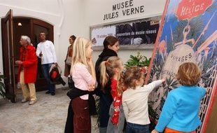 Le musée Jules Verne avait déjà fait l'objet de gros travaux en 2005.