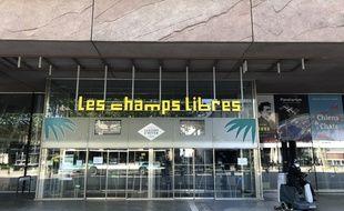 Illustration des Champs Libres à Rennes.