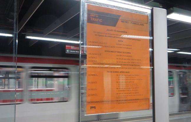 Lyon: Les régulateurs du métro entament leur quatrième semaine de grève, le trafic toujours perturbé lundi