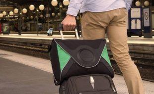 Le sac de transport sécurisé de LivingPackets.