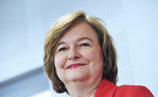 Nathalie Loiseau, tête de liste LREM aux européennes à Lille, le 11 avril 2019.