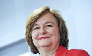 Nathalie Loiseau, tete de liste LREM aux europeennes, institut Sciences Po Lille, le 11 avril 2019. Credit: Sarah ALCALAY / Sipa//ALCALAYSARAH_ALCALAY014249/1904240836/Credit:Sarah Alcalay/SIPA/1904240836
