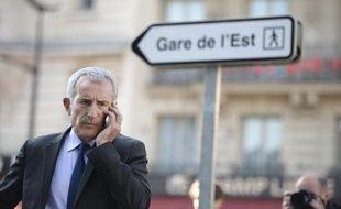 Le président de la SNCF Guillaume Pepy à Paris le 21 avril 2015