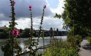 Les bords de la Marne, au Perreux-sur-Marne près de Paris, le 14 août 2014
