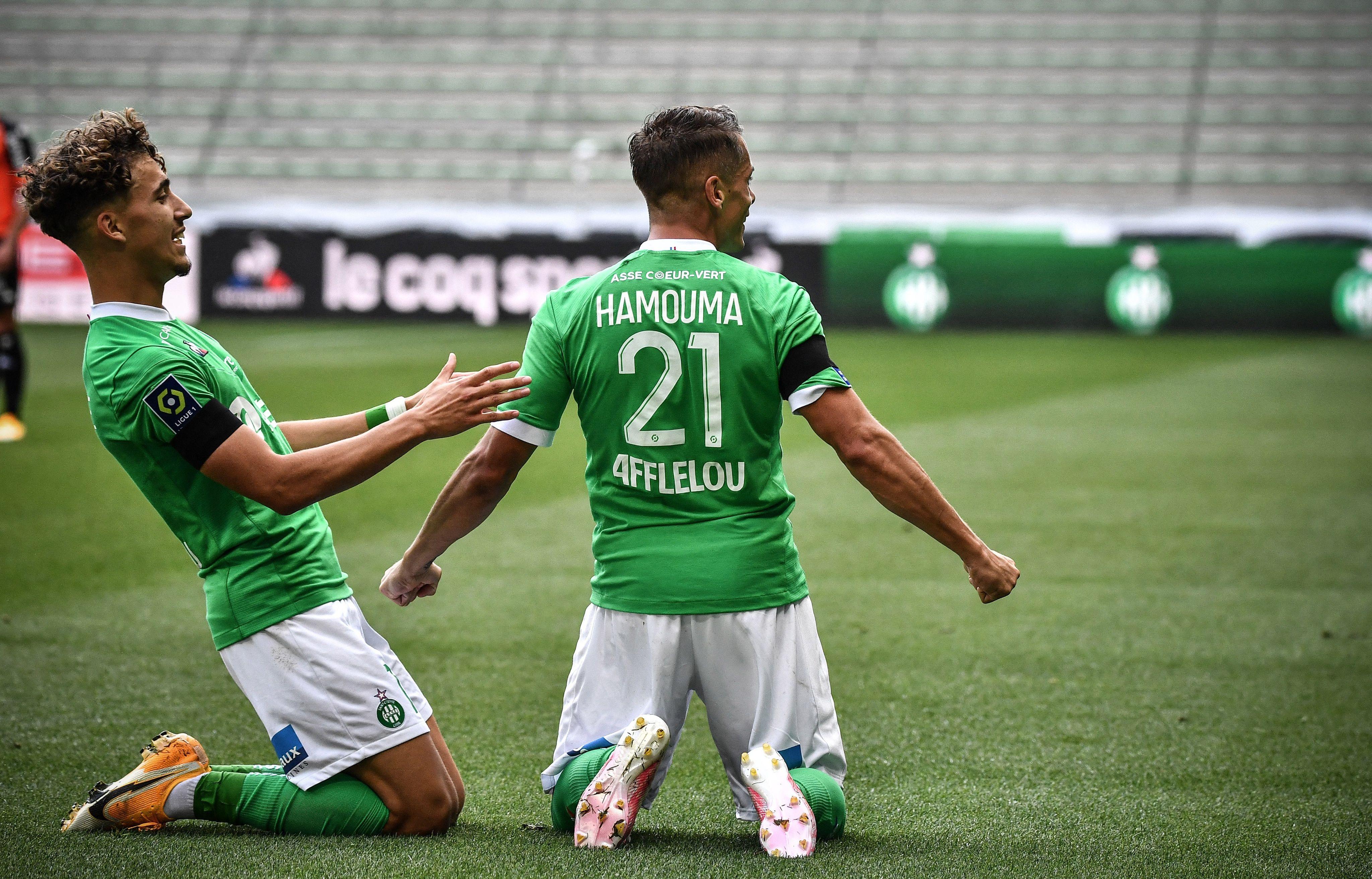 Evoluer toute la saison dans un stade vide est particulièrement pesant pour Romain Hamouma, et ses partenaires.