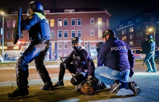Deuxième nuit d'émeutes aux Pays-Bas contre le couvre-feu