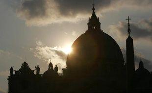 La basilique Saint-Pierre de Rome, en avril 2005.