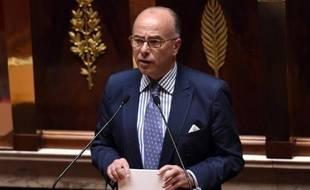 Le ministre de l'Intérieur Bernard Cazeneuve, à l'Assemblée nationale, le 24 juin 2015