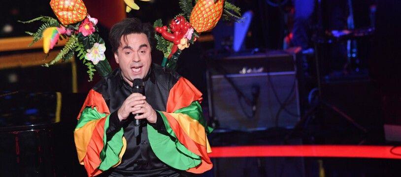 Frédéric Longbois sur le plateau de The Voice All Stars.