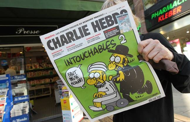 Un numéro de Charlie Hebdo datant de septembre 2012.