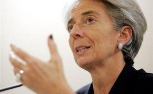 """Pour la ministre française de l'Economie Christine Lagarde, """"il y a clairement un examen de conscience à l'oeuvre"""" dans l'industrie bancaire"""". Il faut maintenant trouver """"le point d'équilibre entre ce qui est bon pour la finance"""" et ce qui peut entraîner des risques excessifs par les opérateurs."""