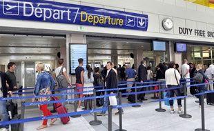 Illustration de l'aéroport de Nice, le 24 Septembre 2012.