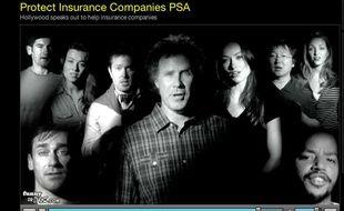 Dans une vidéo, Will Ferrell et ses amis d'Hollywood se prononcent avec humour et ironie en faveur de la réforme du système de santé américain voulu par Barack Obama.