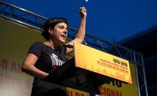 La justice espagnole a lancé mercredi 21 février 2018 un mandat d'arrêt applicable uniquement en Espagne contre l'indépendantiste catalane Anna Gabriel, qui s'est exilée en Suisse.