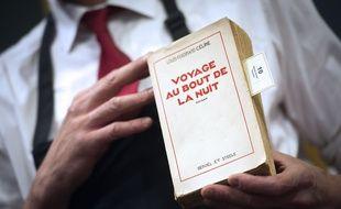Un exemplaire de la première édition de «Voyage au bout de la nuit», lors d'une vente aux enchères en 2011.