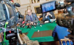 Hier, Alain Juppé s'est dit «heureux» d'être au gouvernement.