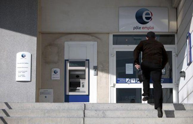 Agence Pôle emploi à Marseille.