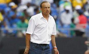 Gernot Rohr, lors de la Coupe d'Afriques des Nations, le 5 février 2013.