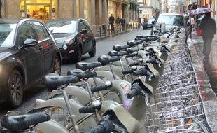 Les Vélib' de première génération vont devoir être recyclés (Illustration).