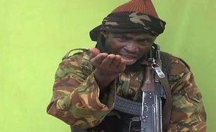 Capture d'écran d'une vidéo envoyée à l'AFP par Boko Haram mettant en scène son chef, Abubakar Shekau.