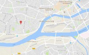 Le drame s'est produit quartier Chantenay à Nantes.