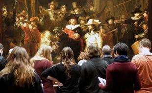 Le tableau « La ronde de nuit » de Rembrandt