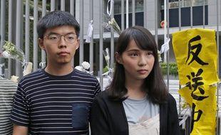 Agnès Chow et Joshua Wong, les leaders de la contestation, ont été arrêtés.